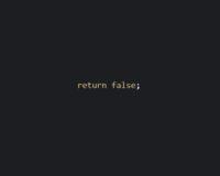 【JavaScript】return falseの意味について総まとめ。コード付で解説